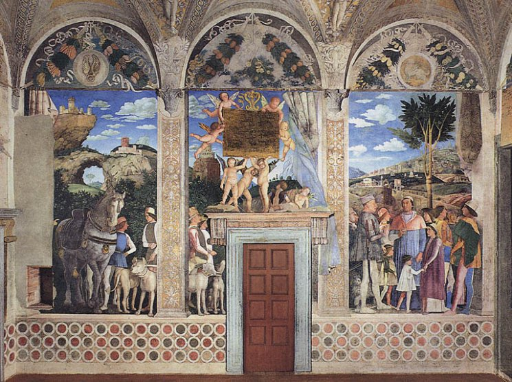 This is the page for Mantova palazzo ducale camera degli sposi