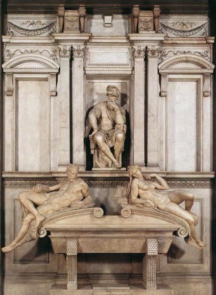 Tomba di Lorenzo Dè Medici - Michelangelo - 1524/1534