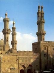 Una moschea del Cairo