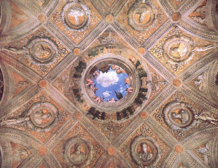 Proposte italia mantova viaggi di for Camera sposi mantegna