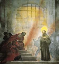 S. Antonio incontra Ezzellino (P.Annigoni)