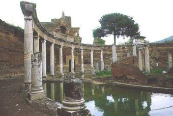 Itinerari roma e lazio tivoli villa d for Avvolgere l aggiunta portico